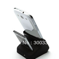 New 2nd Battery Charger Dual Cradle USB Data Sync Dock for Samsung Galaxy S3 i9300 With Cable Retail Box