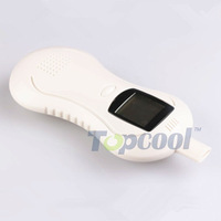 New 2013 hot sale White Professional Digital Breath Alcohol Tester Breath analyzer alcoholmeters Free Shipping