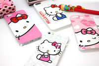 Hot selling! Hello Kitty Hard Case Skin hellokitty Cover for iPhone 5 5G Can mix design*50pcs Free Shipping Wholesale and retail