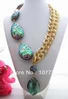 Charming Abalone Shell Necklace    free +shippment
