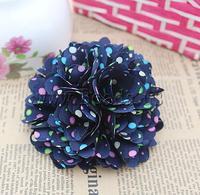 Free shipping!!!Fashion Decoration Flowers,2013 womens european fashion, Cloth, 105x105mm, 30PCs/Lot, Sold By Lot