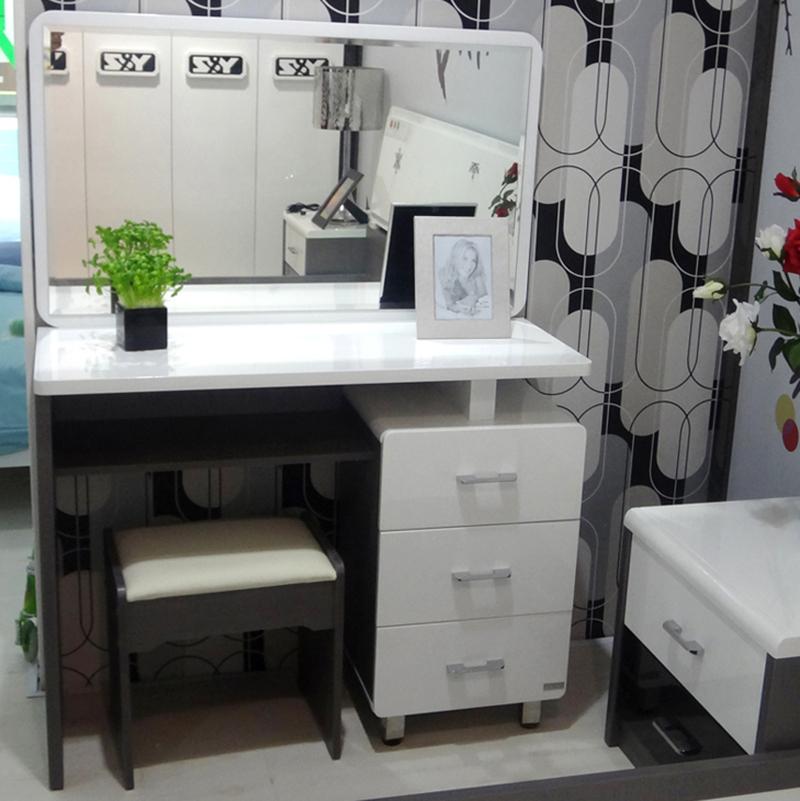 modern makeup vanity set. Trini  White Scandinavian Modern Bedroom Dressing Table Makeup