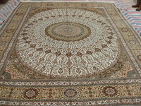 Size 9x12ft Luxus 100%Handmade Persian Silk  Carpet And Rug  a22-9x12 On Sale!