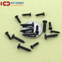 Promotional mini Phillips head pan head self tapping screws / self-tapping screws [black] M2 * 4 1000pcs