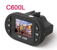 2013 NHot!Full HD 1920*1080P 12 IR LED Car Vehicle CAM Video Camera C600 Recorder Russian Mini Size Car DVR