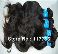 DHL/UPS free shipping 3pieces/lot  Body Wave Virgin Peruvian hair weave