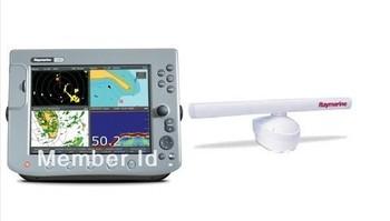 Raymarine C120 Classic Multifunction Display, Radar w/ Cable/Accessories NEW