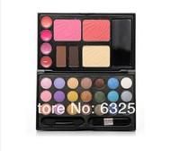 Cheek Cosmetics Palette Powder Cake 21Color Blush Eyeshadow Makeup Lip Gloss Kit H0811