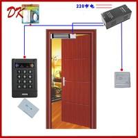 Access control double door access control double door magnetic lock set wooden door iron gate access control card lock