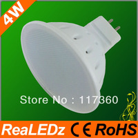 2013 good price 20pcs/lot  4W COLD WHITE MR16 AC220V GU5.3 LED Spotlight
