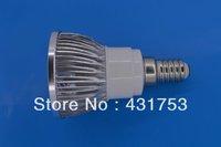 12W  (4 * 3W)  E14  LED Spot Light  85-265V/AC warm white / white / cool white bulb free shipping ( high brightness )