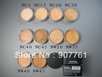 1piece sales promotion choose 1 color MC Brand makeup select sheer loose powder ,mineral powder 8g foundation free shipping