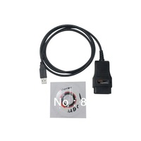 Top quality HDS Cable OBD2 Diagnostic Cable HK free shipping