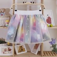 Europe Harajuku organza tutu skirt sky cloud style japan zipper skirts,women girl's chiffon skirt casual Fashion mini skirt