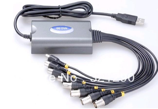 2013 New DVR 4CH H. 264 USB 4 Ch Video&Audio Real-time Network CCTV DVR (QQDVR-4CH)(China (Mainland))