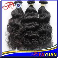 Fayuan hair:Fast shipping shedding free 2 pcs/lot cheap curly hair,mix lengths 5a virgin indian hair wavy