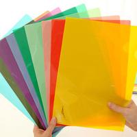 Pen pen korea stationery small fresh candy color single a4 folder kit paper bags