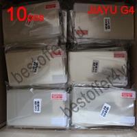 10pcs/lot New CLEAR LCD Original jiayu g4 JIAYU G4S G4C Screen Protector Guard Cover Film For jiayu g4 JIAYU G4 +Cloth