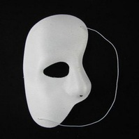 free shipping 10pcs/lot Phantom of the Opera Theme Masks Half Face Mask Venetian Masquerade