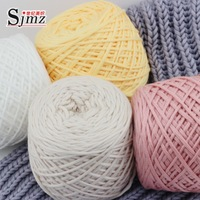 FREE SHIPPING thick scarf shawl hand knitting yarn cotton baby coat 800g 4balls per bag and 5-7mm needle
