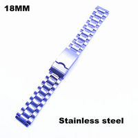 Wholesale 20pcs / lots High quality 18MM stainless steel watch band watch strap - 80304