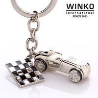 Winko automobile race male couple key chain car key hangings key chain