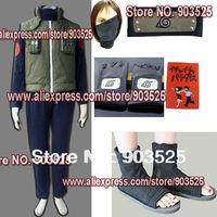 Free Shipping  Apparel Naruto Hatake Kakashi Cosplay Costume simple set, any measurements