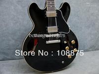 - best china guitar 335 black Electric Guitar #1124563