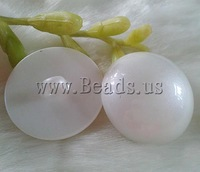 Free shipping!!!ABS plastic shank button,Jewelry Accessories, Dome, white, 13mm, 100PCs/Bag, Sold By Bag