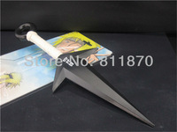 Free Shipping Naruto Minato Yondaime Hokage Ninja Kunai 26cm for Cosplay party and Halloween