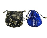 Free shipping!!!Jewelry Drawstring Bags,Cheap Jewelry Fashion, Satin, Rectangle, mixed colors, 100x105mm, 200PCs/Lot