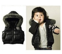 2013 new,(4pcs/lot)children's coat,boys vest jacket boys dust coat/boys  winter coat.Children's clothes,coat the boys red  black