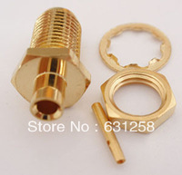Cheapest  SMA Female Bulkhead RF connector For RG405