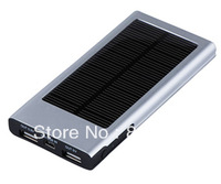 PROMOTION ---FREE SHIPPING--- 2000mAh  Solar Charger for Apple iPhone 5, Samsung Galaxy S3,Sony, HTC, Nokia