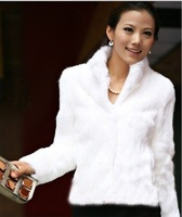 Free  shipping Faux fur coat fur vest autumn new arrival 2012 sweater vest short design women'supset