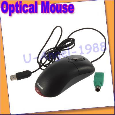 Fashion Microsoft Wheel Optical USB Compatible Mouse Black +Free shipping(China (Mainland))