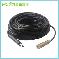15m 50ft USB Waterproof Drain Pipe Pipeline Snake Inspection Camera Endoscope with Retail Box