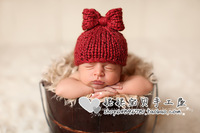 Free Shipping baby handmake knitted hat photography props