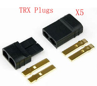 Traxxas / TRX Plugs 5 pair Device, Lipo Battery / NiMh Battery Connectors