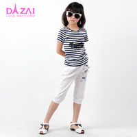Hot-selling dizai vip 2013 female child short-sleeve sweater spring and summer new arrival t-shirt