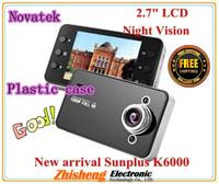 Car Camera,Car Video Recorder with HD 1920*1080P 25 fps 2.7 inch TFT Screen HDMI Free Shipping K6000 free shipping