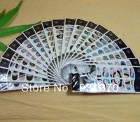 NEW Design Polish Nail sticker Nail polish patch wholesales(12pieces/set)