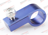 AN6 6AN - 6 AN ALUMINUM LINE CLAMP ( ID 11.3MM ) HOSE CLAMP AD73007 BLUE