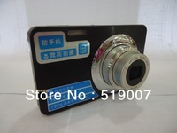 "cheap digital camera  9.0MP CMOS sensor, Max 16MP,2.7""display,20X Zoom,anti-shock, card type camera cheap camera"