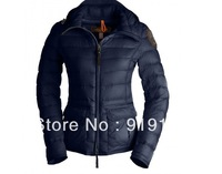 FreeShipping 100% Down hooded SKI jacket super lightweight WOMAN short parka female coat brand women water repellent parkas