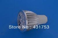 LED spotlights GU10 12W (4 * 3W)   LED lamp 85-265V AC warm white / white / cool white bulb free shipping ( high brightness )