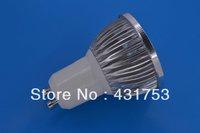 12W (4 * 3W) GU10 LED spotlights LED lamp 85-265V AC warm white / white / cool white bulb free shipping ( high brightness )