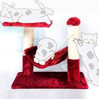 Sallei cat toy cat climbing frame cat scratch board cradle rack cat litter