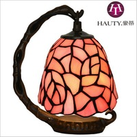 LED Tiffany lamps art gifts decorative lamp bedroom bedside table decorations butterfly night light birthday gift Free Shipping