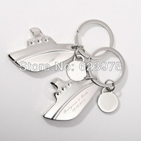 Personalized Cruise Keyrings&Key Holder (Set of 4)